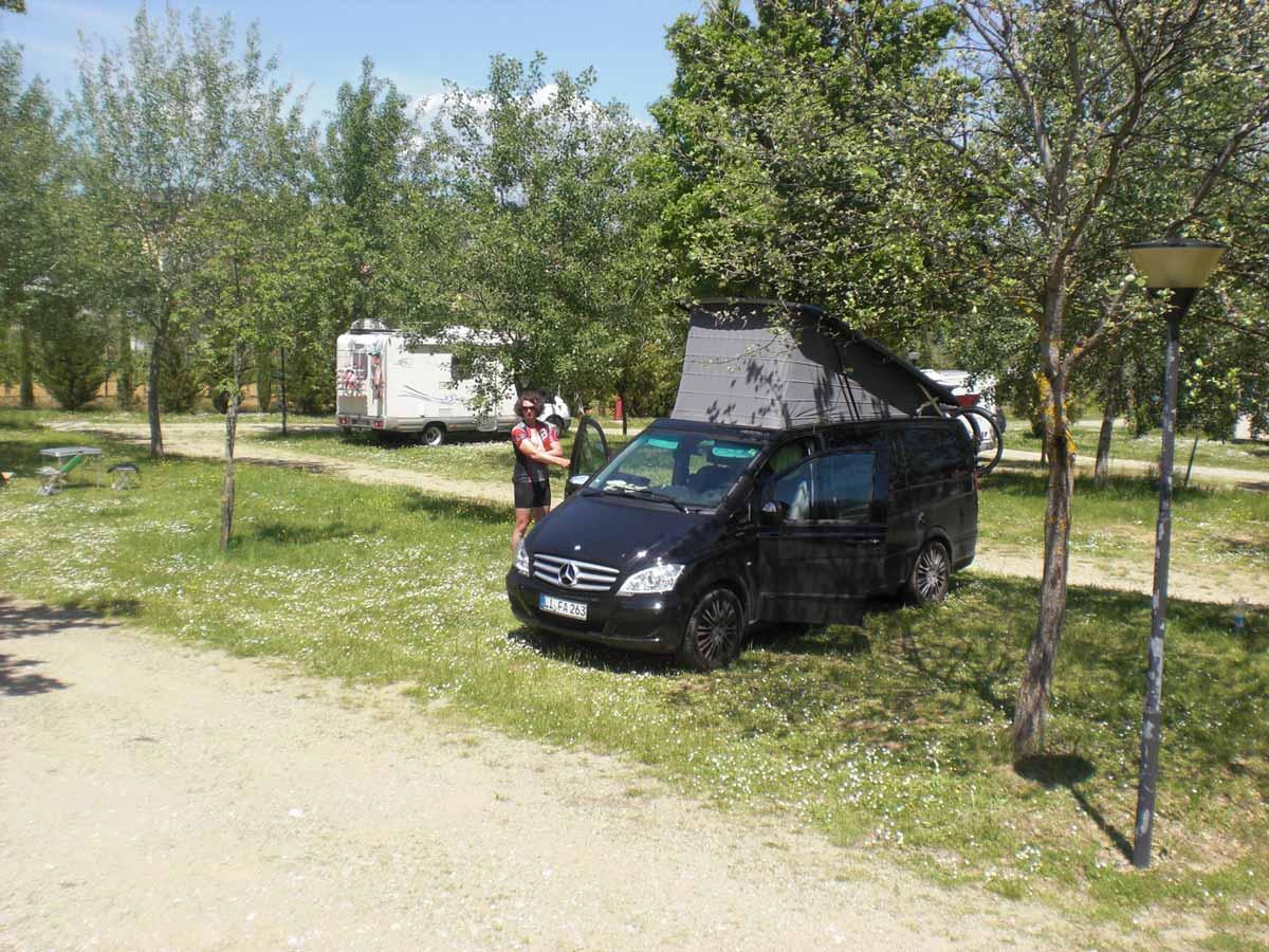Ambrosic beim Campen