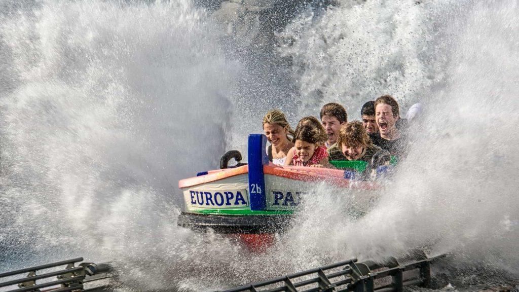 Europapark Wasserattraktion