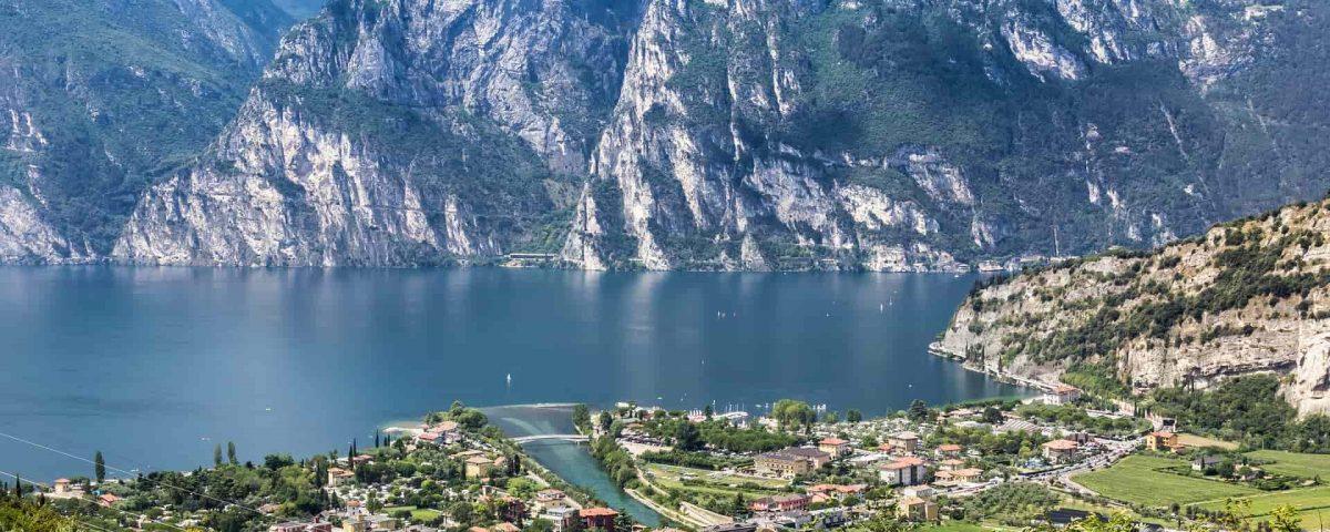 Gardasee Berge Panorama