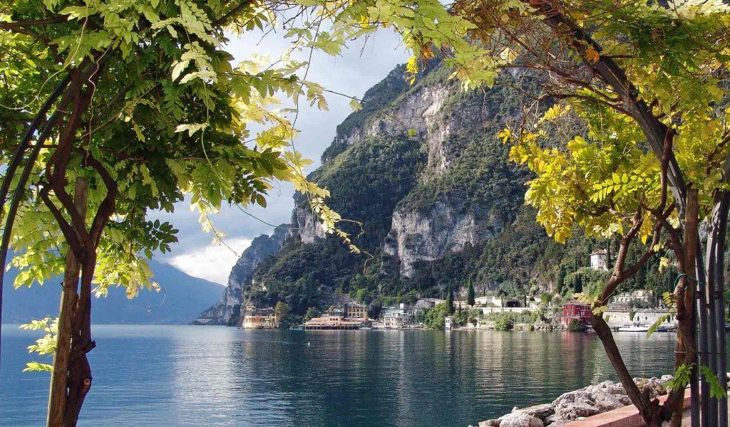 Gardasee mit Blick auf Riva