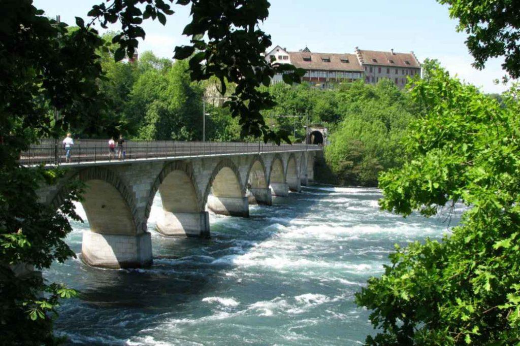 Brücke am Rheinfall