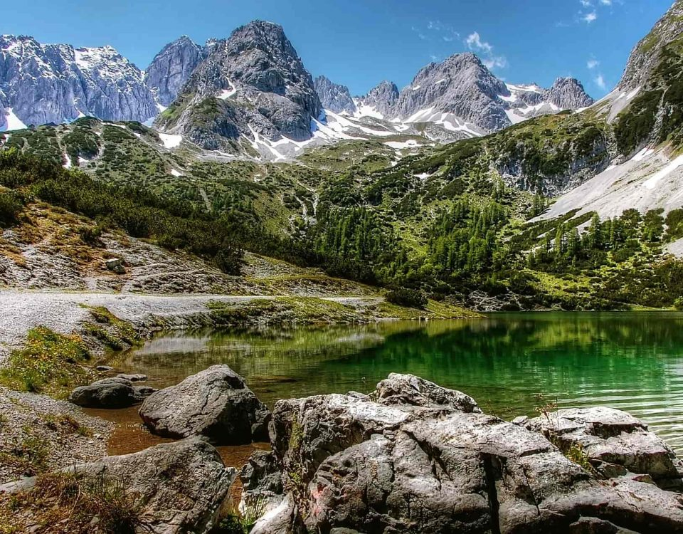 Seebensee an der Zugspitze
