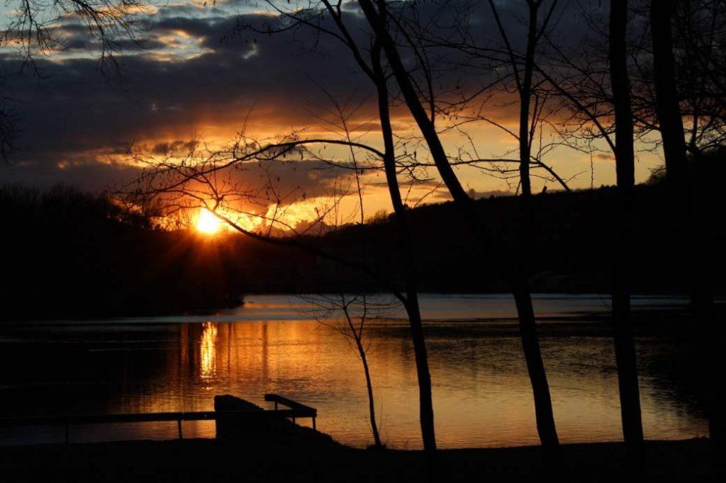 Ein Sonnenuntergang im Tessin
