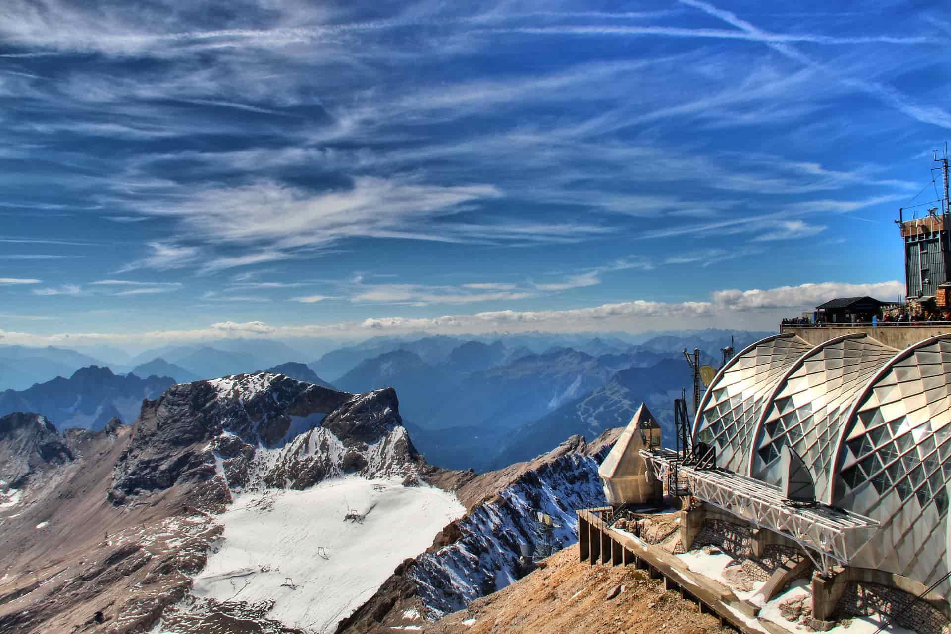 Der höchste Punkt Deutschlands - die Zugspitze